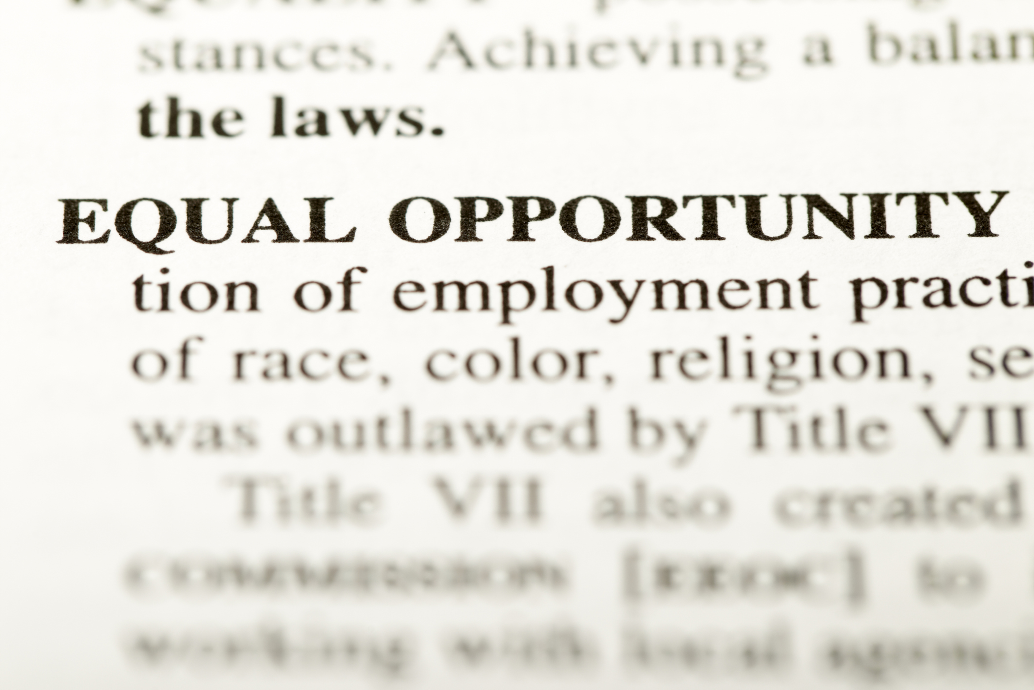 equal opportunities in the workplace essay Writepass - essay writing - dissertation topics [toc]introductionresearch approachfindingsfindings from secondary researchimportance of managing workplace diversitychallenges of workplace diversity managementfindings from primary researchresponses in support of workplace diversityresponses against workplace diversityconclusionrelated abstract diversity in.